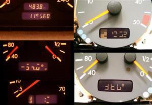 Mercedes benz pixel display repairs
