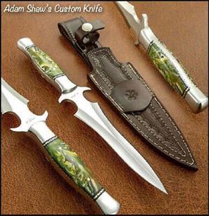 Handmade Stainless Steel Boot Dagger