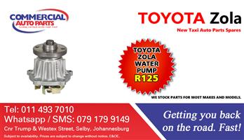 4y Water Pump For Toyota Zola Budd For Sale.