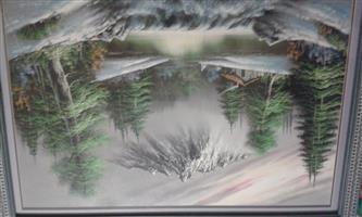 Arcrylic landscape painting