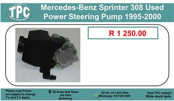 Mercedes-Benz Sprinter 308 Used Power Steering Pump 1995-2000 For Sale.