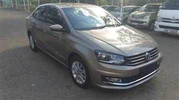 2016 VW Polo sedan POLO GP 1.6 COMFORTLINE TIP
