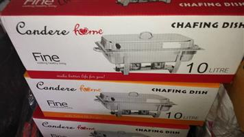 Condere chafing dishes for sale