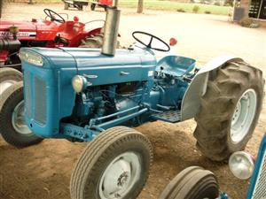 Fordson Dexta   Fiat 450N    Massey  35x  65  and 290       only one of each available. From R35000