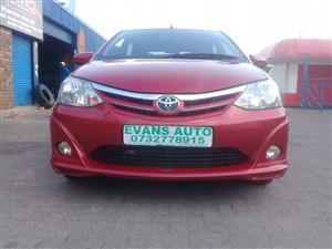 2015 Toyota Etios hatch 1.5 Xs Sport
