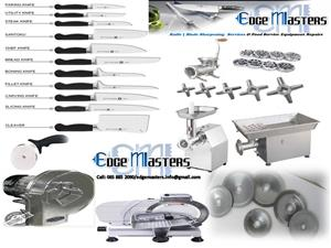 Mobile Knife and Blade Sharpening Services & Food Service Equipment Repairs