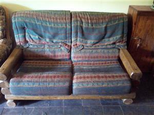 Log Living Room Set