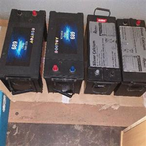 Truck&bus batteries for sale