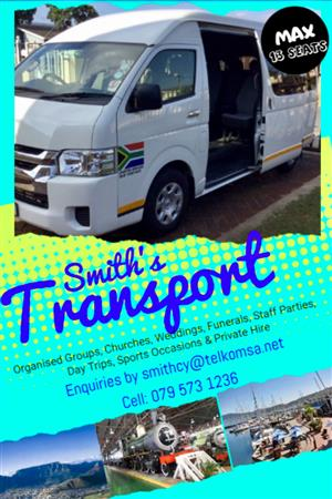 """Daily Shuttle Services """"Immediate"""" on call (point to point)"""