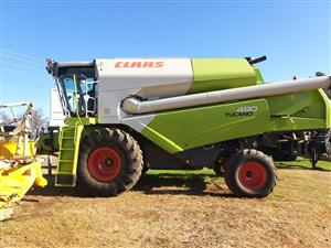 Claas T480 Combine - ON AUCTION