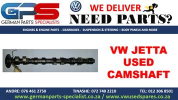 VW JETTA USED REPLACEMENT CAMSHAFT- REPLACEMENT PARTS / SPARES