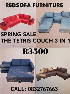 Tetris couch 3 in 1