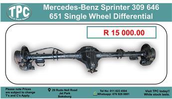 Mercedes-Benz Sprinter 309/646/651 Single Wheel Differential For Sale.
