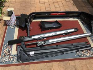 Rollbar black Ford Ranger Wildtrack
