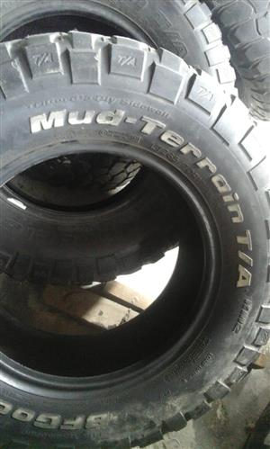 4  x 4 tyres set of 6