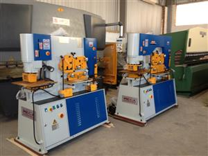 Punching Machine, Iron Worker, Cropper, Hydraulic, 90Ton, Brand New