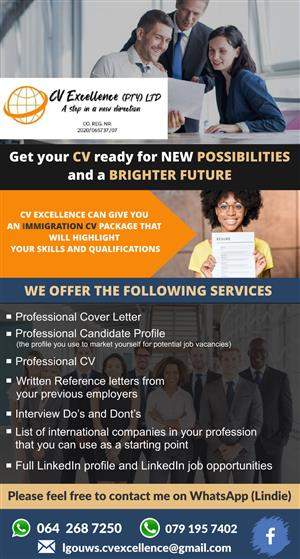 CV Excellence (PTY) Ltd