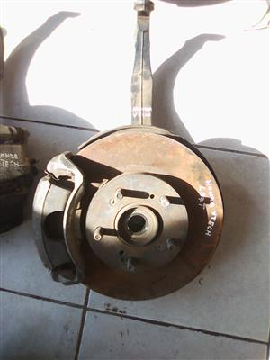HONDA V.TECH LEFT AND RIGHT STEP EXCEL HUB DISK AND CALIPER FOR SALE!!