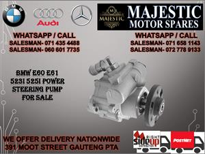 BMW E60 523I power steering pump for sale