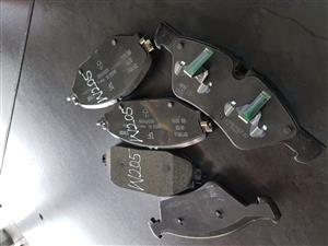 MERCEDES BENZ W 205 REAR-FRONT BREAK PADS ON SELL