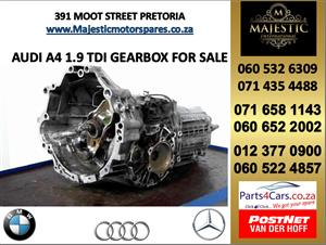 Audi a4 1.9 gearbox for sale used