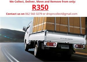 We Collect, Deliver, Move, Remove and Transport - Courier and Removals