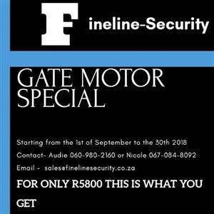 Fineline security gate motor special