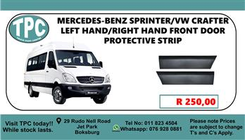 Mercedes-Benz Sprinter/Vw Crafter Left Hand/Right Hand Front Door Protective Strip - For Sale at TPC