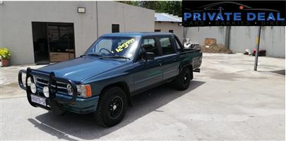 1998 Toyota Hilux 2.8GD 6 double cab Raider