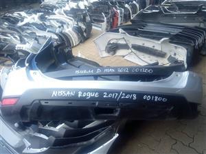 Nissan Rogue Rear Bumper