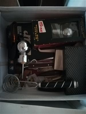 Large set of Bar Accessories, like openers, etc