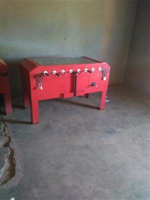 Soccer table coin operating for sale  Siyabuswa