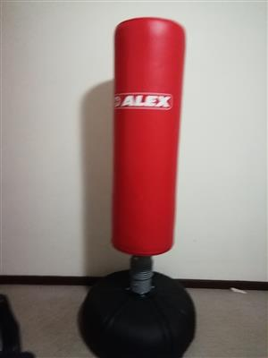 PUNCHING BAG ON STAND