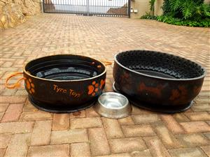 One Medium and One Large tire dog beds for sale