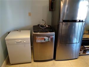 Fridge, Washing Machine and Dishwasher