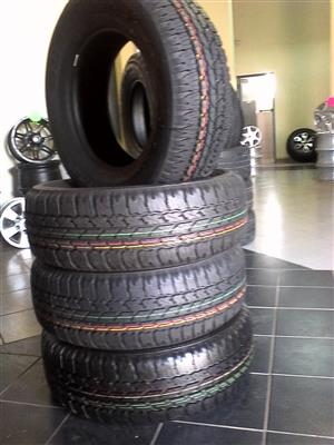 265/65/17 brigestone dueller A/T 4x new tyres on special r6199,