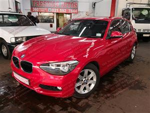 2014 BMW 1 Series 116i 5 door