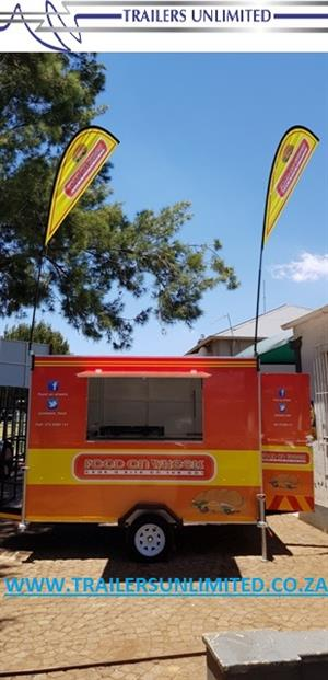 FOOD ON WHEELS CATERING TRAILERS. BEST BRANDING BEST EQUIPMENT.