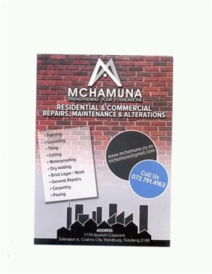 MCHAMUNA PROJECT