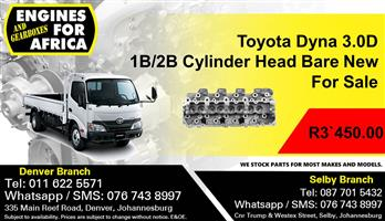 Toyota Dyna 3.0D 1B/2B Cylinder Head Bare New For Sale