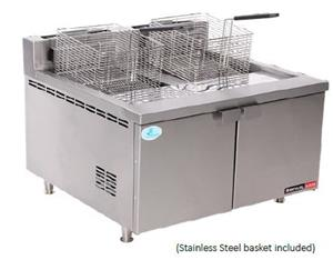 FISH FRYER ANVIL-DOUBLE PAN-GAS-FFA4120