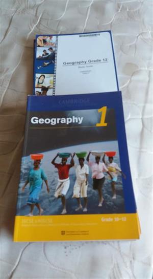 Geography grade 12 books