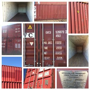 12m High Cubed Shipping Containers for Sale!