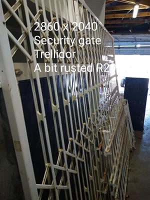 Trellidor security gate for sale