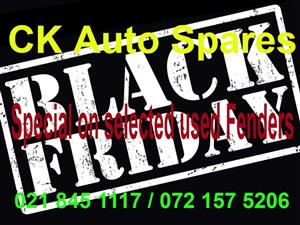 Black Friday Special on selected used Fenders for most vehicle makes and models.