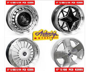 Brand new 17 inch mags for all Cars@autostyle.co.za, toyota quest too