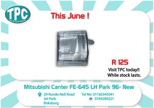 Mitsubishi Canter FE 645 LH Park 96-New for Sale at TPC