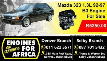 Mazda B3 323 1.3L 92-97 Engine For Sale