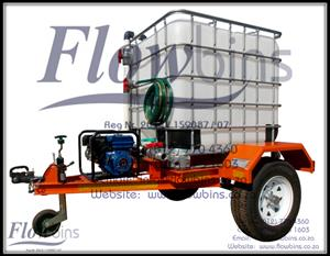 1000L Water Bowsers / Fire Fighters - Bakkie skids / Trailers from R7490