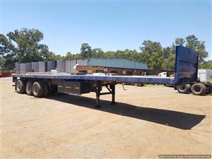 Flat Deck Trailer >> Tri Axle Flat Deck Trailer 13 5m Junk Mail
